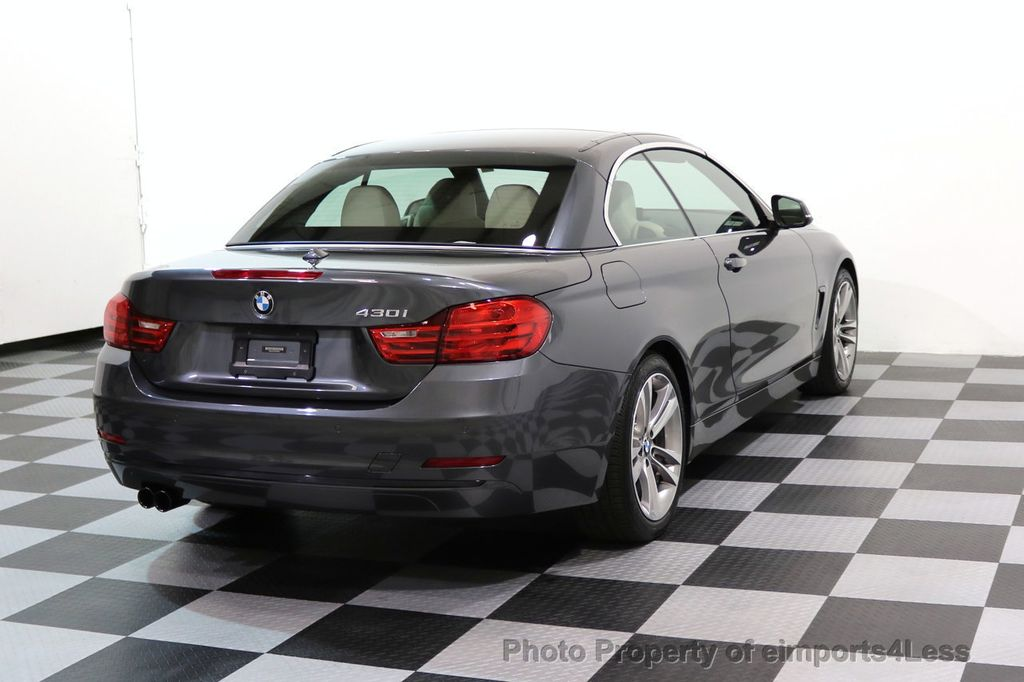 2017 BMW 4 Series CERTIFIED 430i Sport Line CAMERA NAVIGATION - 17614194 - 3