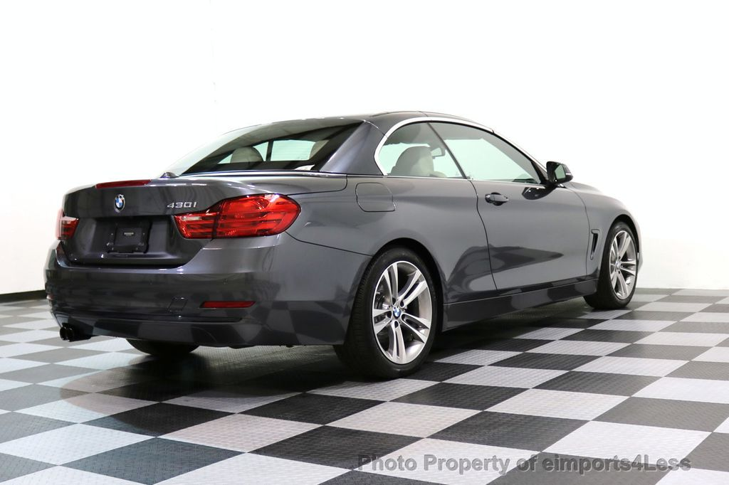 2017 BMW 4 Series CERTIFIED 430i Sport Line CAMERA NAVIGATION - 17614194 - 46