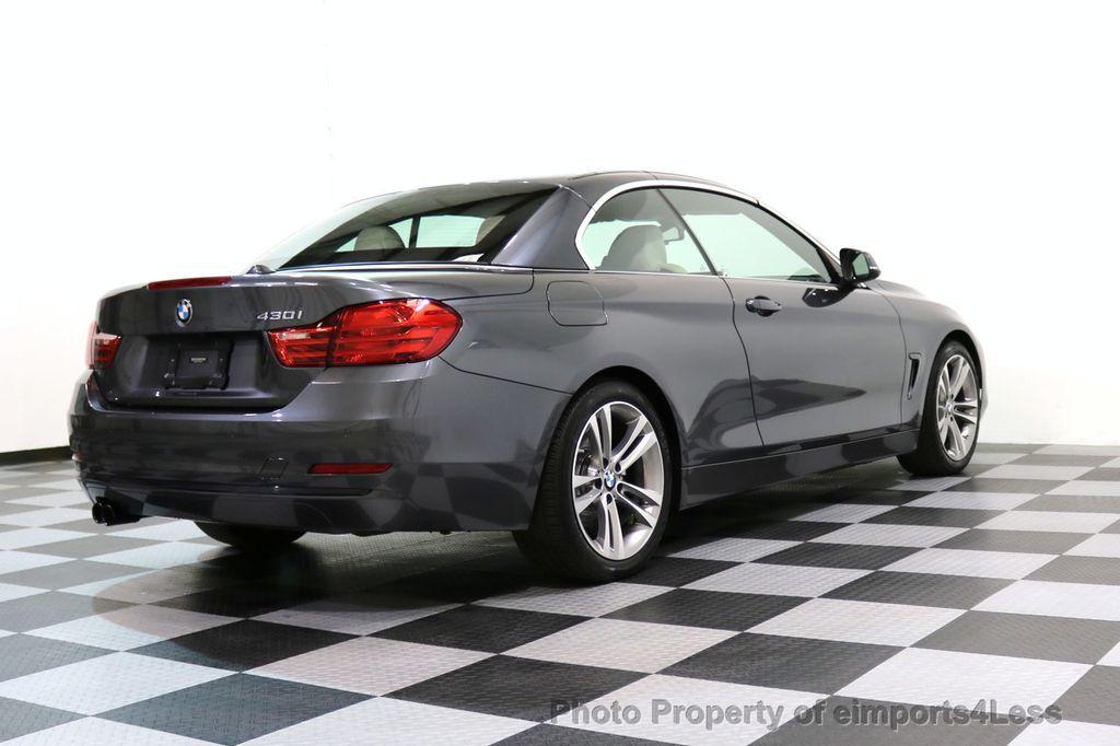 2017 BMW 4 Series CERTIFIED 430i Sport Line CAMERA NAVIGATION - 17614194 - 46