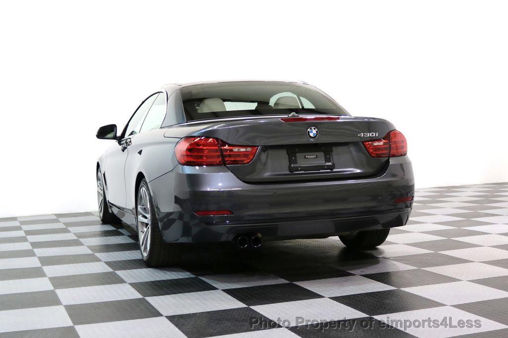 2017 BMW 4 Series CERTIFIED 430i Sport Line CAMERA NAVIGATION - 17614194 - 48