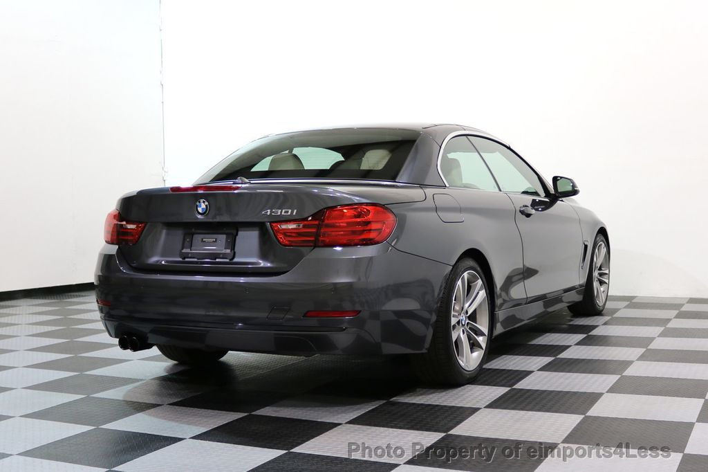 2017 BMW 4 Series CERTIFIED 430i Sport Line CAMERA NAVIGATION - 17614194 - 49