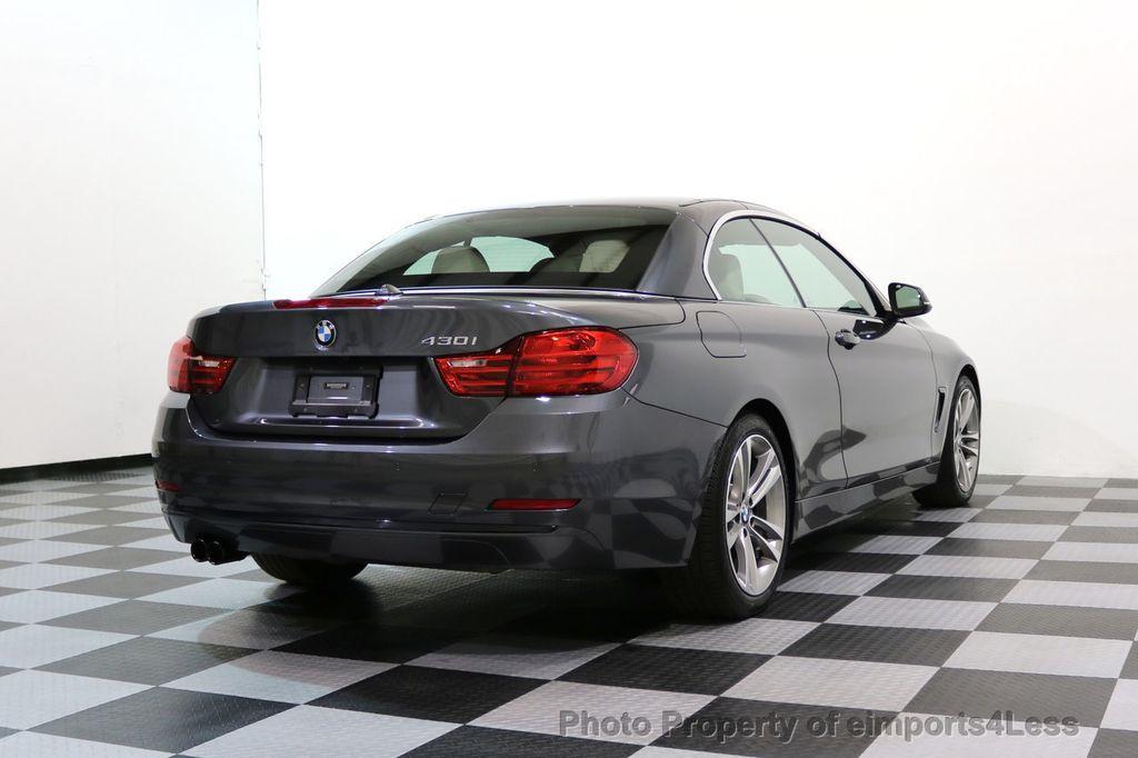 2017 BMW 4 Series CERTIFIED 430i Sport Line CAMERA NAVIGATION - 17614194 - 49