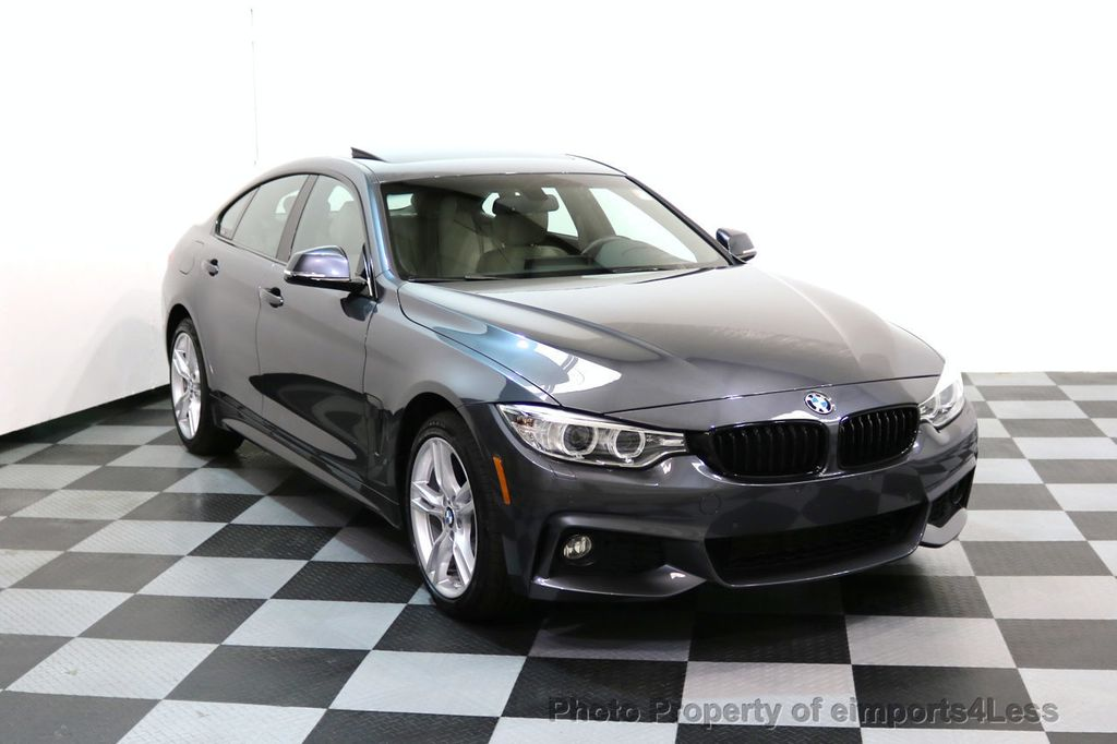 2017 BMW 4 Series CERTIFIED 430i xDRIVE Gran Coupe M SPORT AWD CAMERA NAV - 17369556 - 1
