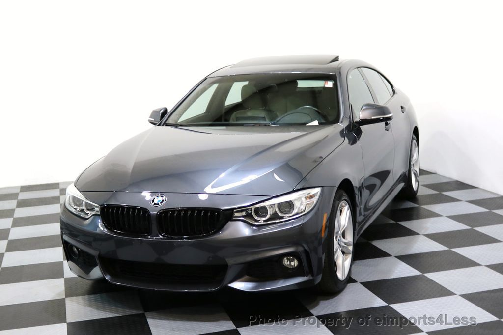 2017 BMW 4 Series CERTIFIED 430i xDRIVE Gran Coupe M SPORT AWD CAMERA NAV - 17369556 - 27