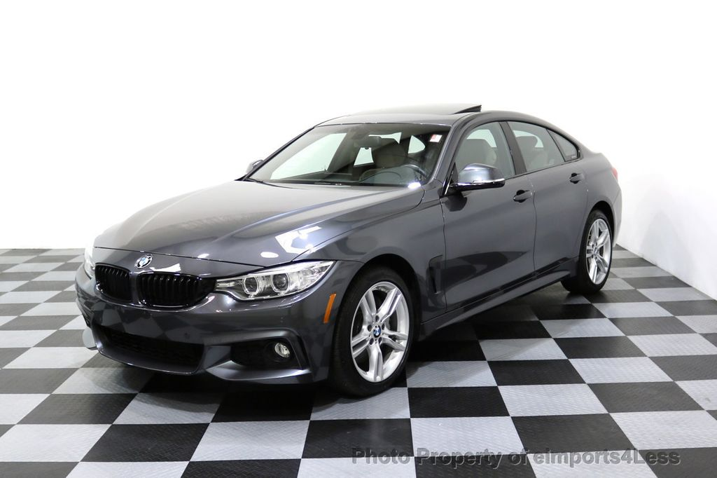 2017 BMW 4 Series CERTIFIED 430i xDRIVE Gran Coupe M SPORT AWD CAMERA NAV - 17369556 - 41