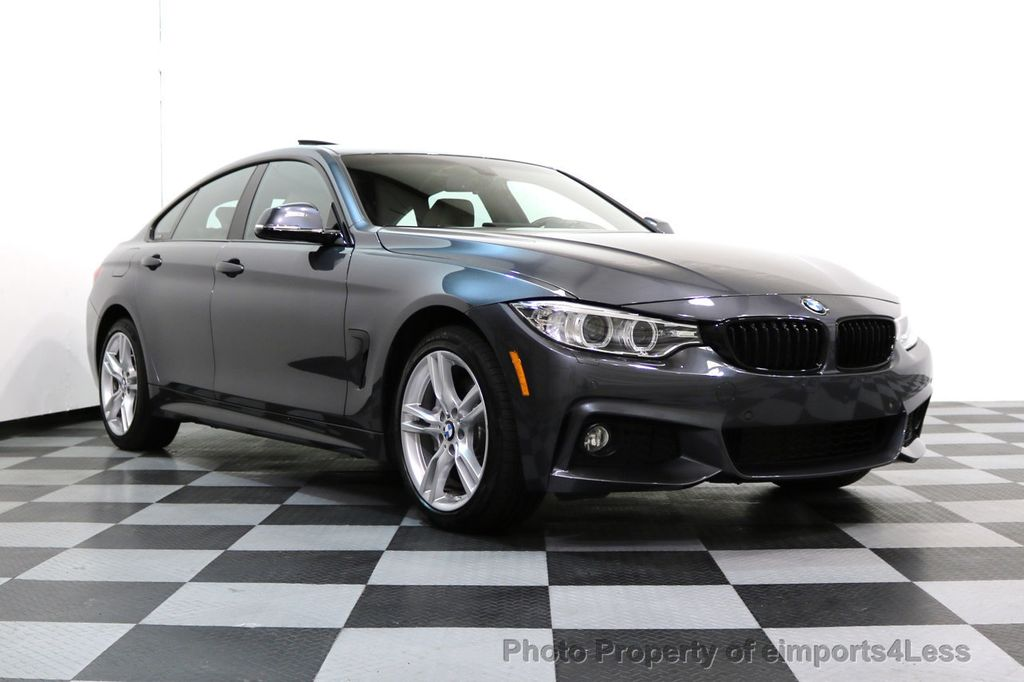2017 BMW 4 Series CERTIFIED 430i xDRIVE Gran Coupe M SPORT AWD CAMERA NAV - 17369556 - 48