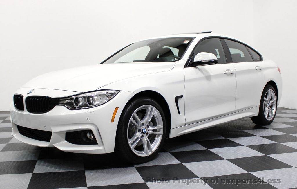 2017 used bmw 4 series certified 440i xdrive awd gran coupe m sport