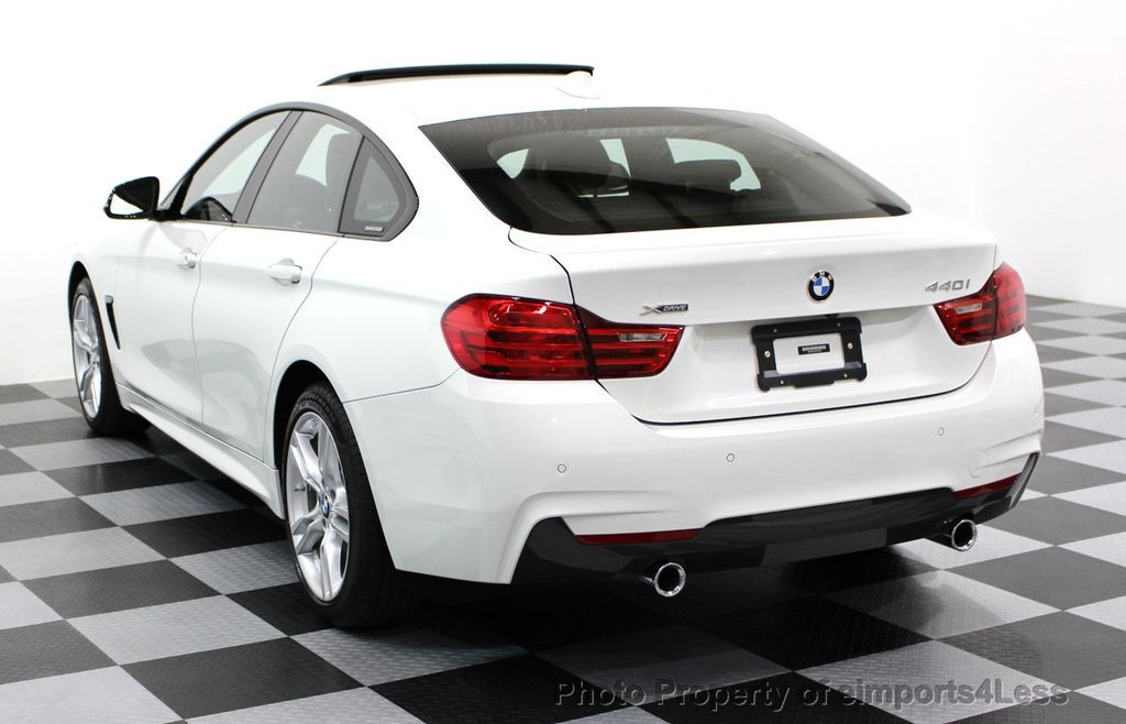 2017 BMW 4 Series CERTIFIED 440i xDRIVE AWD Gran Coupe M SPORT TECH ASSIST NAV - 16534997 - 30