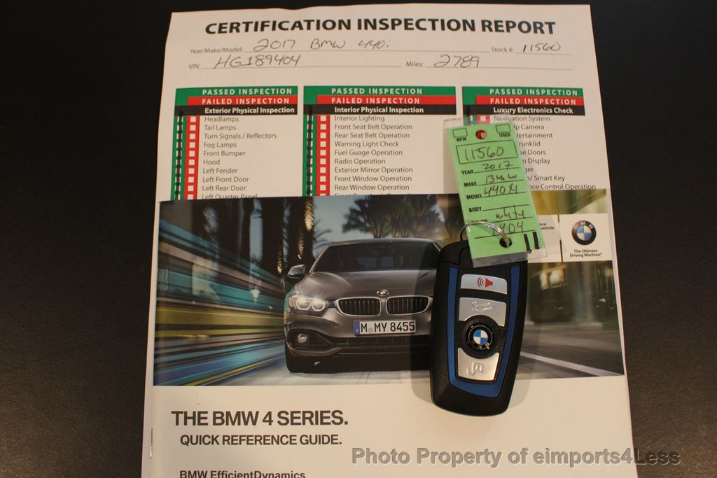 2017 BMW 4 Series CERTIFIED 440i xDRIVE AWD Gran Coupe M SPORT TECH ASSIST NAV - 16534997 - 45