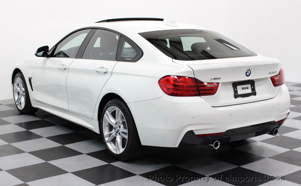 2017 BMW 4 Series CERTIFIED 440i xDRIVE AWD Gran Coupe M SPORT TECH ASSIST NAV - 16534997 - 47