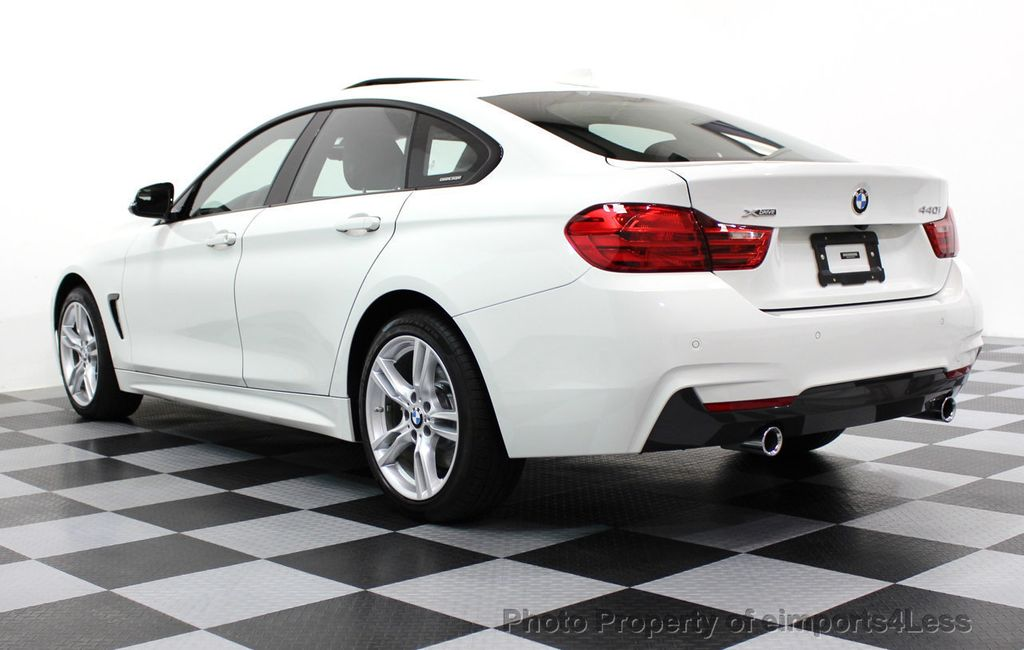 2017 BMW 4 Series CERTIFIED 440i xDRIVE AWD Gran Coupe M SPORT TECH ASSIST NAV - 16534997 - 48