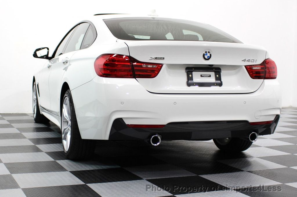 2017 BMW 4 Series CERTIFIED 440i xDRIVE AWD Gran Coupe M SPORT TECH ASSIST NAV - 16534997 - 50