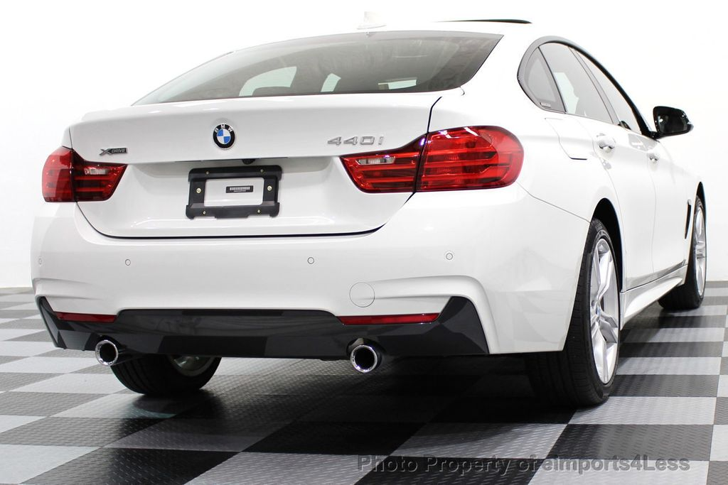 2017 BMW 4 Series CERTIFIED 440i xDRIVE AWD Gran Coupe M SPORT TECH ASSIST NAV - 16534997 - 52