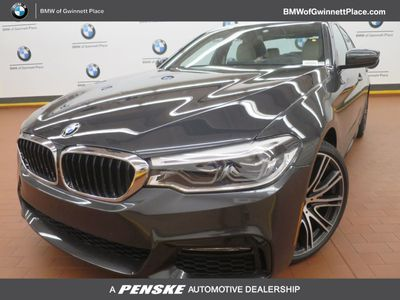 2017 BMW 5 Series 540i Sedan