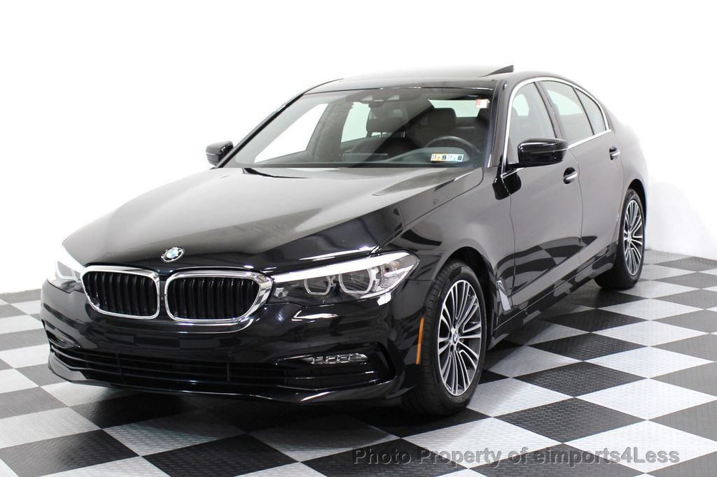 2017 BMW 5 Series CERTIFIED 530i xDRIVE Sport Line AWD Driver Assist PLUS NAV - 17517064 - 0