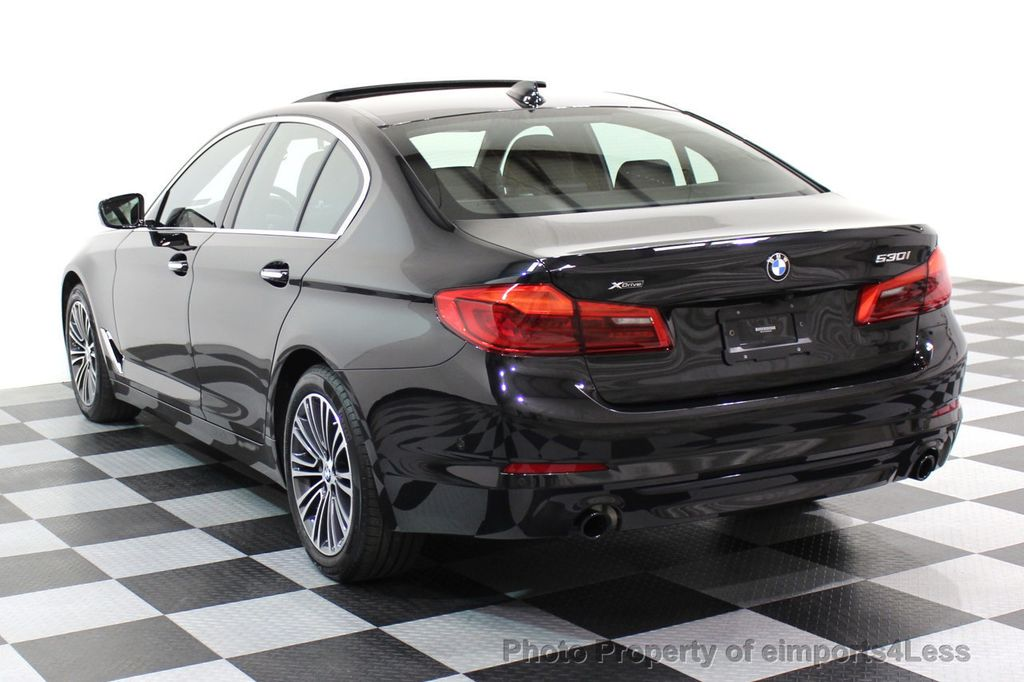 2017 BMW 5 Series CERTIFIED 530i xDRIVE Sport Line AWD Driver Assist PLUS NAV - 17517064 - 16