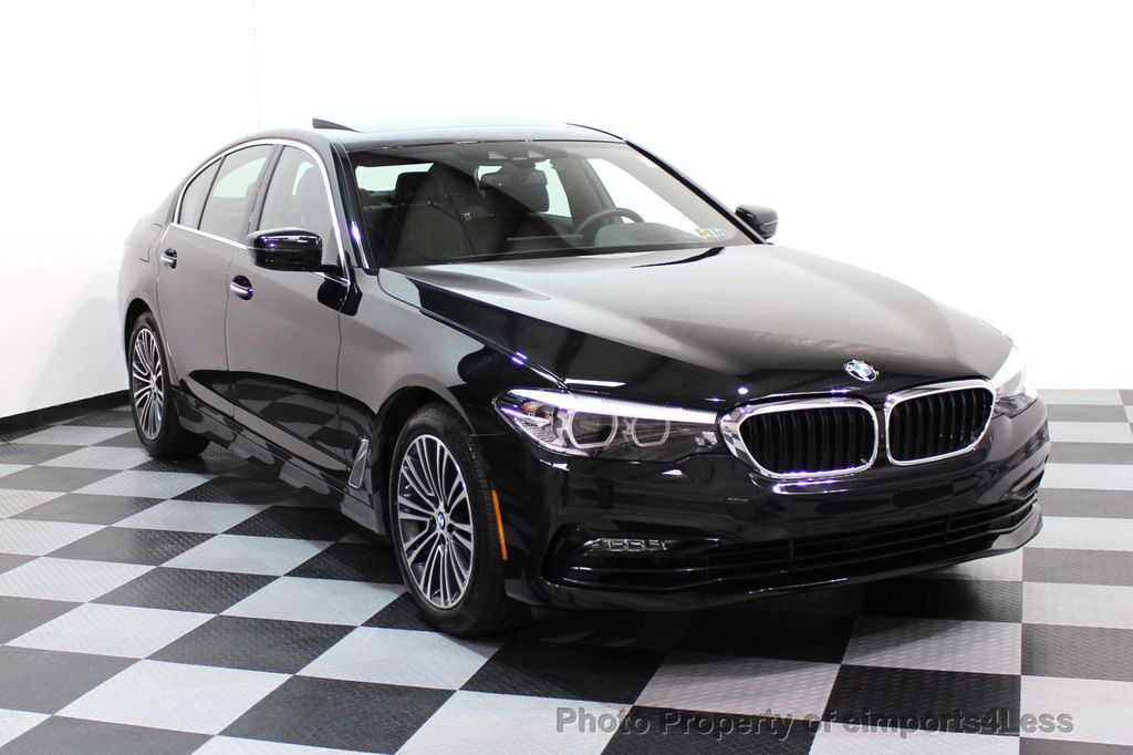 2017 BMW 5 Series CERTIFIED 530i xDRIVE Sport Line AWD Driver Assist PLUS NAV - 17517064 - 1