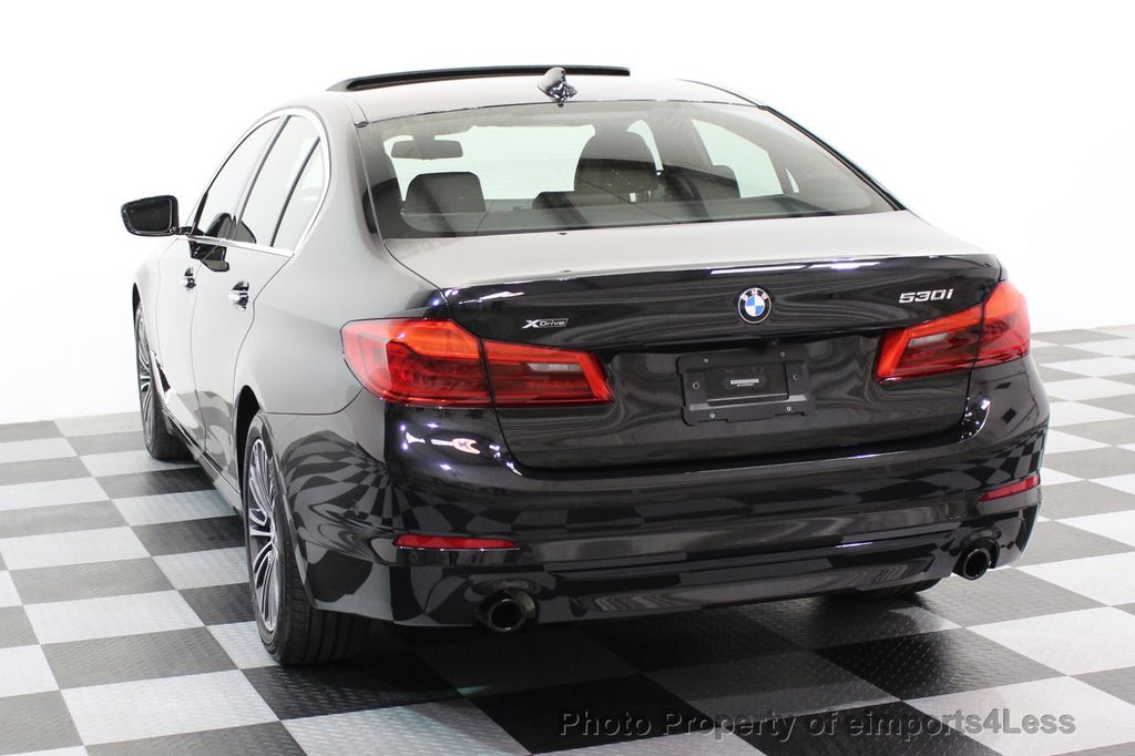 2017 BMW 5 Series CERTIFIED 530i xDRIVE Sport Line AWD Driver Assist PLUS NAV - 17517064 - 41