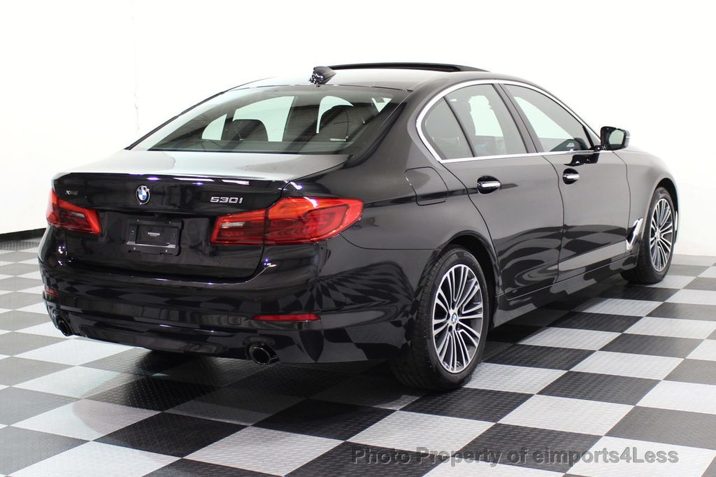 2017 BMW 5 Series CERTIFIED 530i xDRIVE Sport Line AWD Driver Assist PLUS NAV - 17517064 - 43