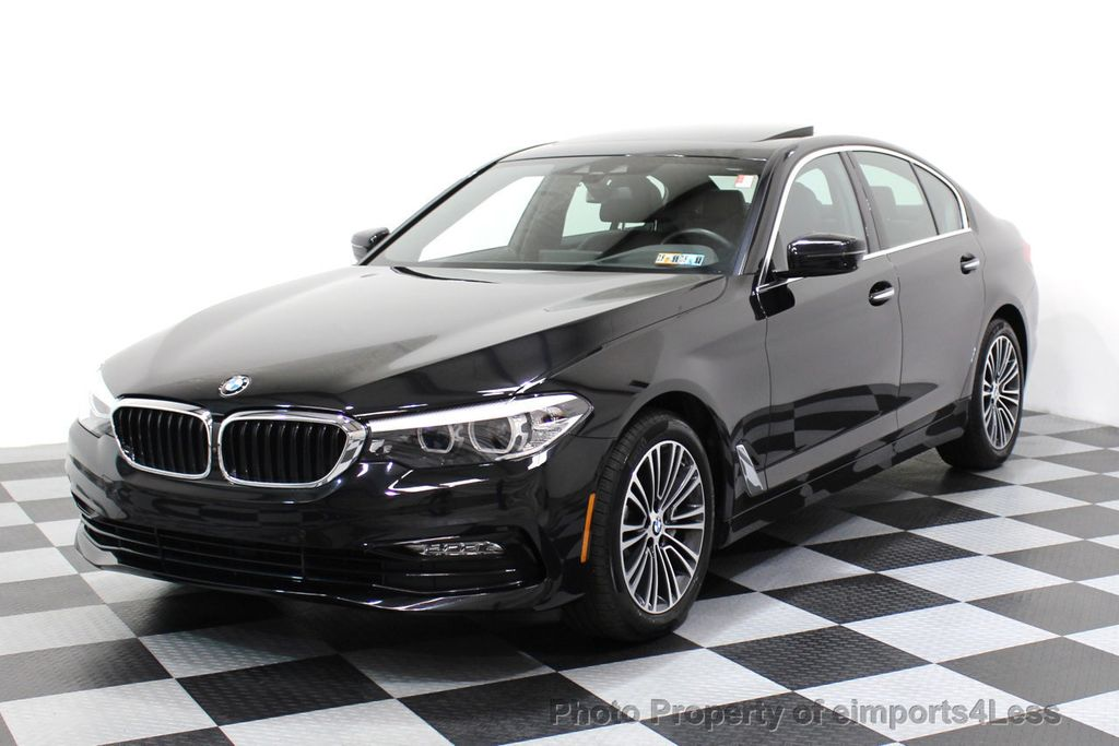 2017 BMW 5 Series CERTIFIED 530i xDRIVE Sport Line AWD Driver Assist PLUS NAV - 17517064 - 53