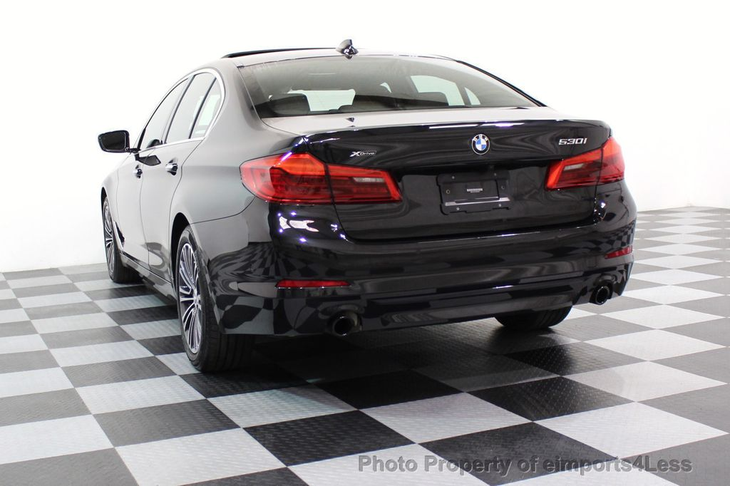 2017 BMW 5 Series CERTIFIED 530i xDRIVE Sport Line AWD Driver Assist PLUS NAV - 17517064 - 55