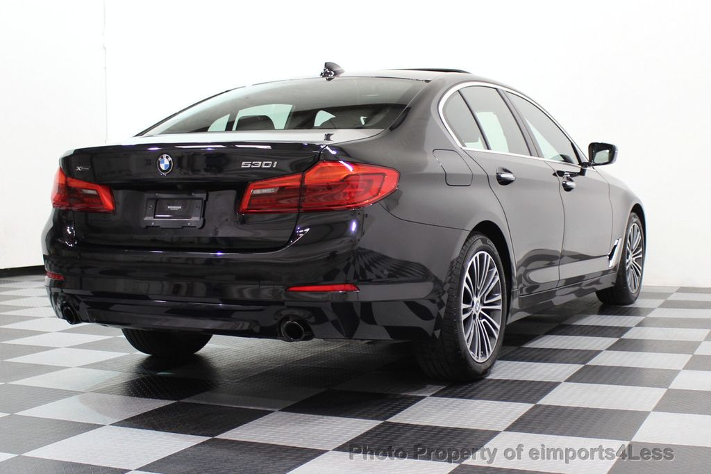 2017 BMW 5 Series CERTIFIED 530i xDRIVE Sport Line AWD Driver Assist PLUS NAV - 17517064 - 56