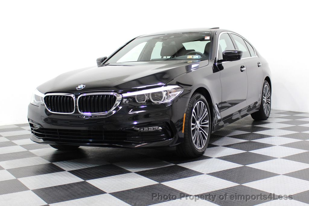 2017 BMW 5 Series CERTIFIED 530i xDRIVE Sport Line AWD Driver Assist PLUS NAV - 17517064 - 64