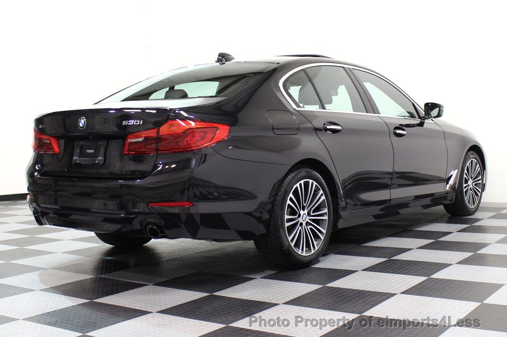 2017 BMW 5 Series CERTIFIED 530i xDRIVE Sport Line AWD Driver Assist PLUS NAV - 17517064 - 66