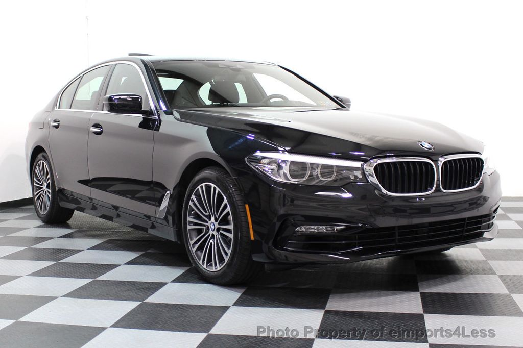 2017 BMW 5 Series CERTIFIED 530i xDRIVE Sport Line AWD Driver Assist PLUS NAV - 17517064 - 67