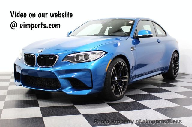 2017 Used BMW M2 CERTIFIED M2 EXECUTIVE 6 SPEED HK CAMERA NAV at  eimports4Less Serving Doylestown, Bucks County, PA, IID 18306870