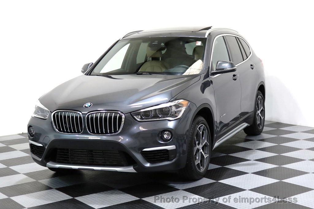 2017 used bmw x1 certified x1 xdrive28i awd premium tech. Black Bedroom Furniture Sets. Home Design Ideas