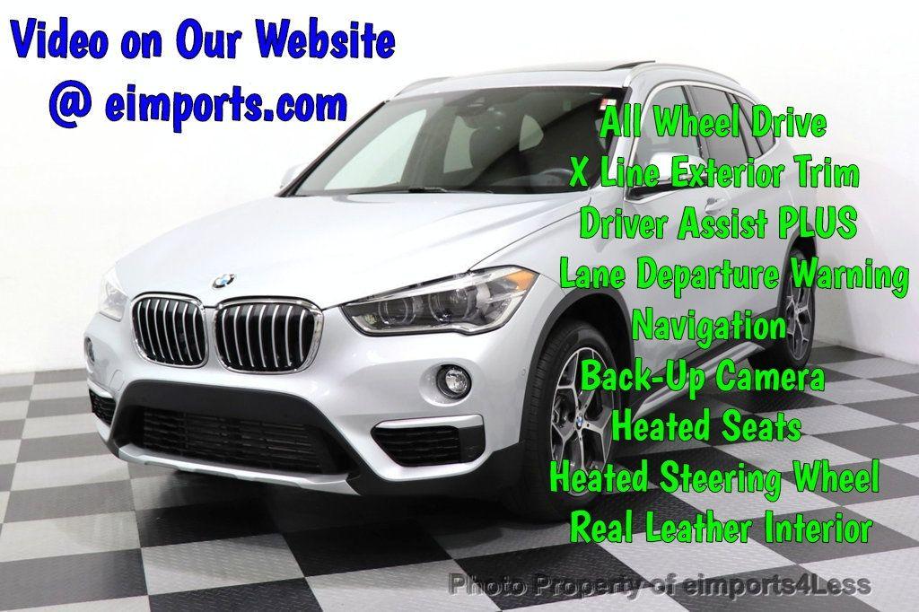 2017 BMW X1 CERTIFIED X1 xDrive28i AWD TECH LUX DRIVER ASSIST PLUS - 18373065 - 0