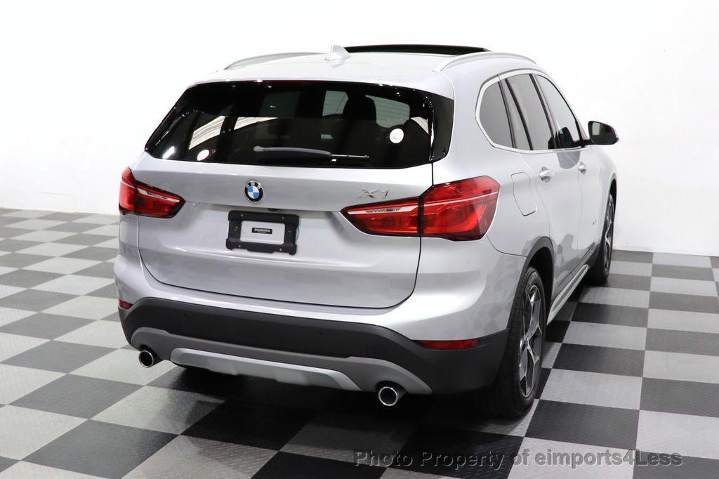 2017 BMW X1 CERTIFIED X1 xDrive28i AWD TECH LUX DRIVER ASSIST PLUS - 18373065 - 48