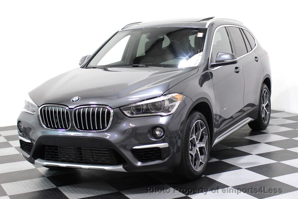 2017 BMW X1 CERTIFIED XDRIVE28i X LINE AWD CAMERA LED PANO NAVI