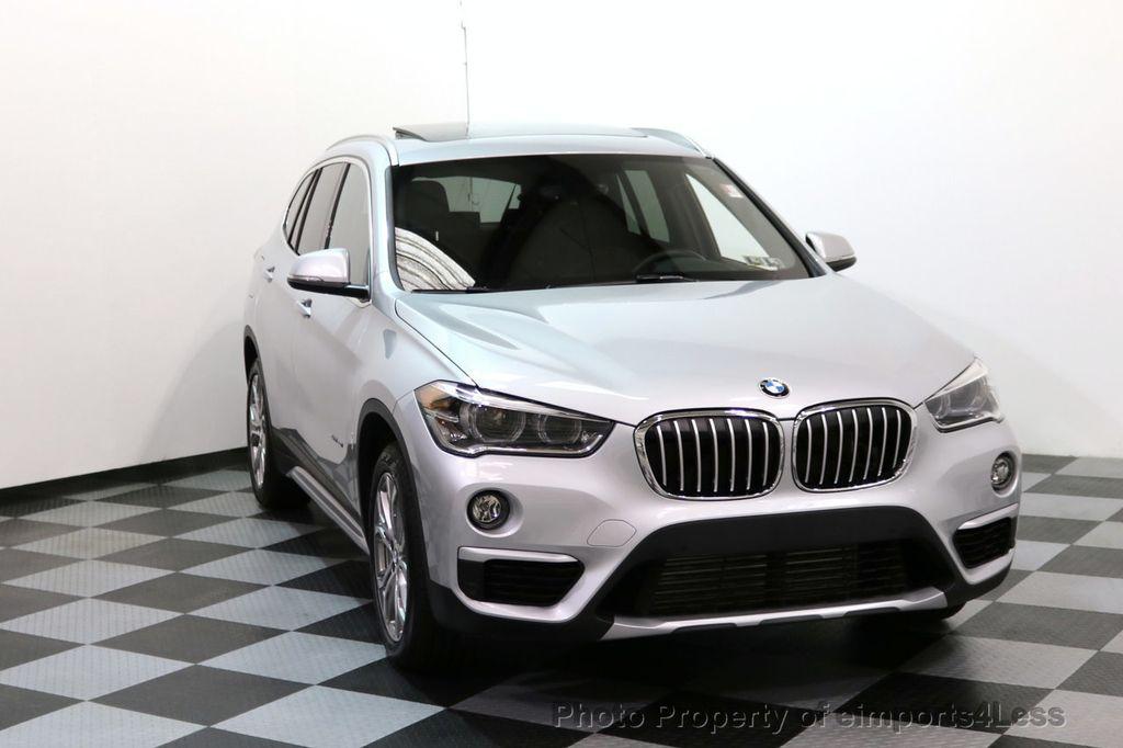 2017 BMW X1 CERTIFIED X1 xDRIVE XLINE AWD CAMERA PANO NAVIGATION - 17613061 - 29