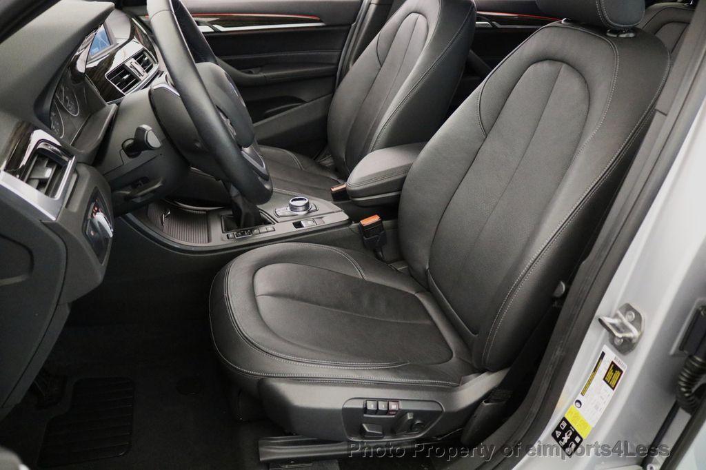 2017 BMW X1 CERTIFIED X1 xDRIVE XLINE AWD CAMERA PANO NAVIGATION - 17613061 - 33