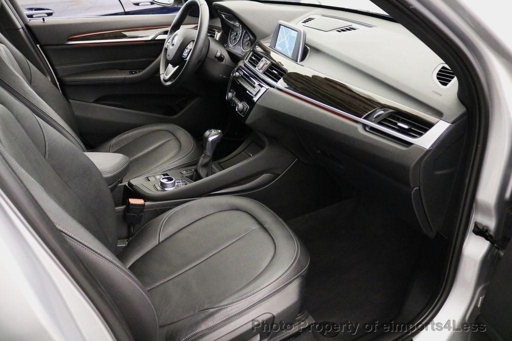2017 BMW X1 CERTIFIED X1 xDRIVE XLINE AWD CAMERA PANO NAVIGATION - 17613061 - 42
