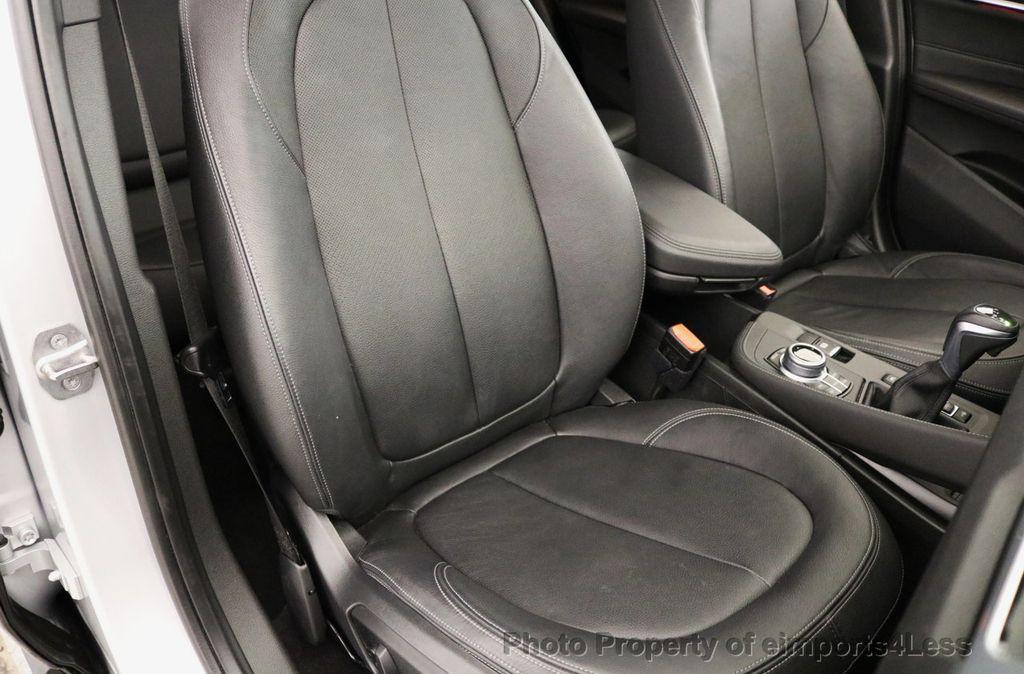 2017 BMW X1 CERTIFIED X1 xDRIVE XLINE AWD CAMERA PANO NAVIGATION - 17613061 - 46