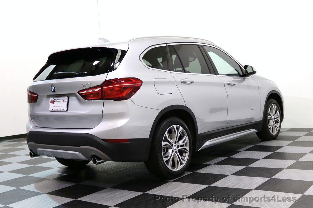 2017 BMW X1 CERTIFIED X1 xDRIVE XLINE AWD CAMERA PANO NAVIGATION - 17613061 - 50
