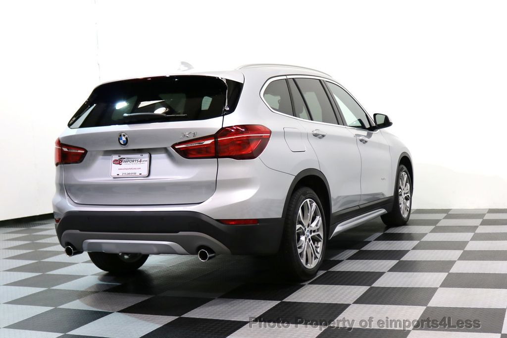 2017 BMW X1 CERTIFIED X1 xDRIVE XLINE AWD CAMERA PANO NAVIGATION - 17613061 - 53