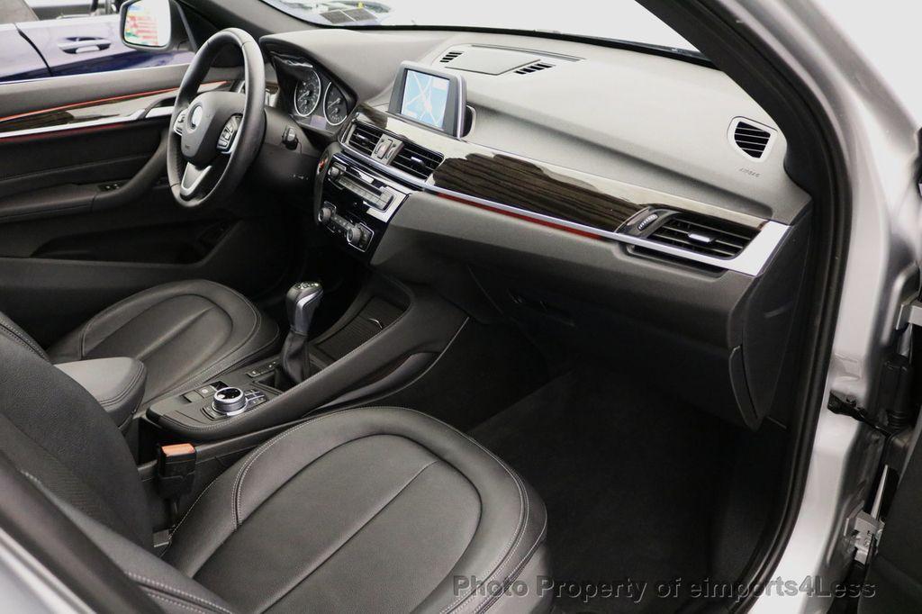 2017 BMW X1 CERTIFIED X1 xDRIVE XLINE AWD CAMERA PANO NAVIGATION - 17613061 - 8