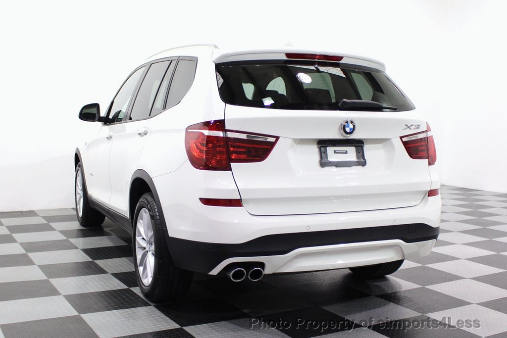 2017 BMW X3 CERTIFIED X3 xDRIVE28i AWD CAMERA PANO NAVI - 18104444 - 16