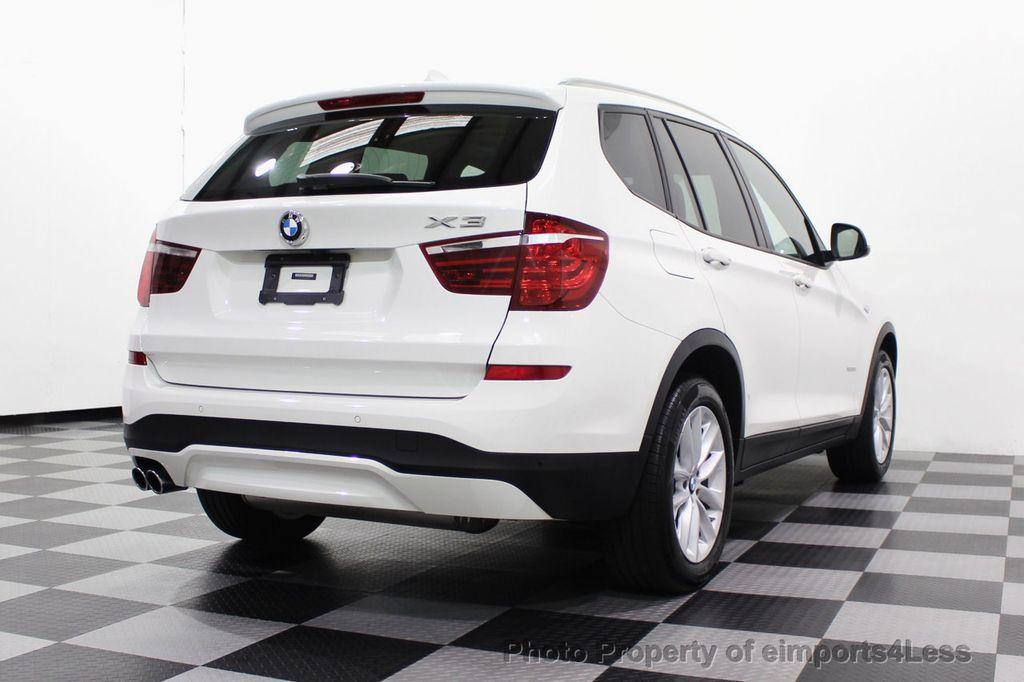 2017 BMW X3 CERTIFIED X3 xDRIVE28i AWD CAMERA PANO NAVI - 18104444 - 18