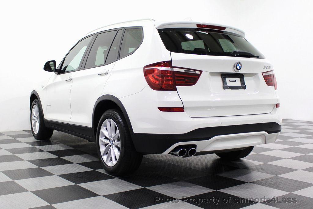 2017 BMW X3 CERTIFIED X3 xDRIVE28i AWD CAMERA PANO NAVI - 18104444 - 2