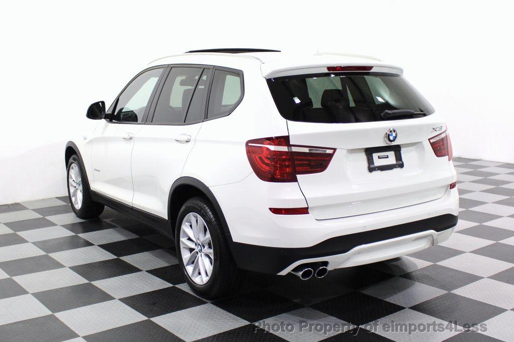 2017 BMW X3 CERTIFIED X3 xDRIVE28i AWD CAMERA PANO NAVI - 18104444 - 31