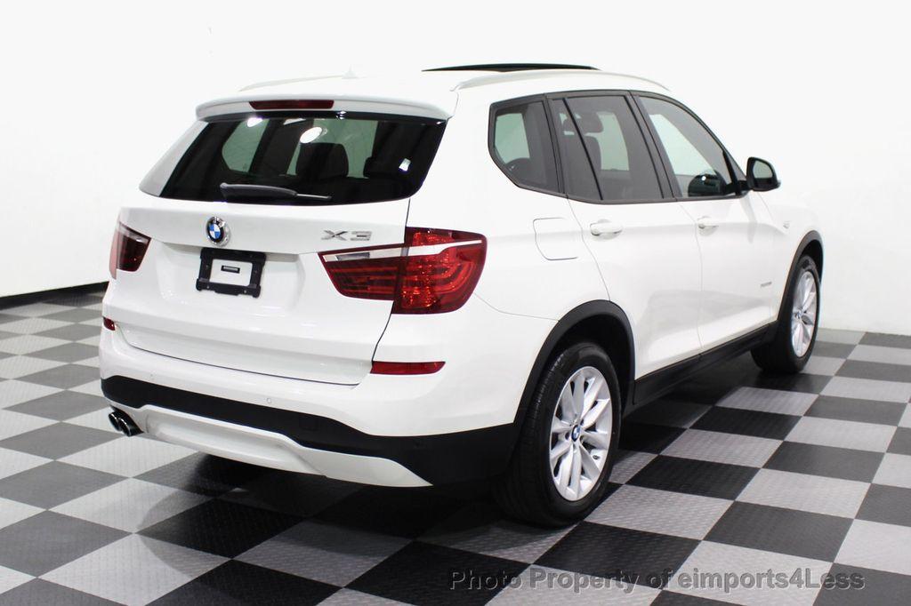 2017 BMW X3 CERTIFIED X3 xDRIVE28i AWD CAMERA PANO NAVI - 18104444 - 33