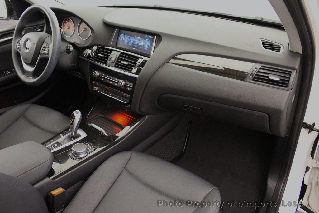 2017 BMW X3 CERTIFIED X3 xDRIVE28i AWD CAMERA PANO NAVI - 18104444 - 36