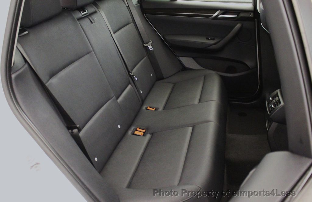 2017 BMW X3 CERTIFIED X3 xDRIVE28i AWD CAMERA PANO NAVI - 18104444 - 38