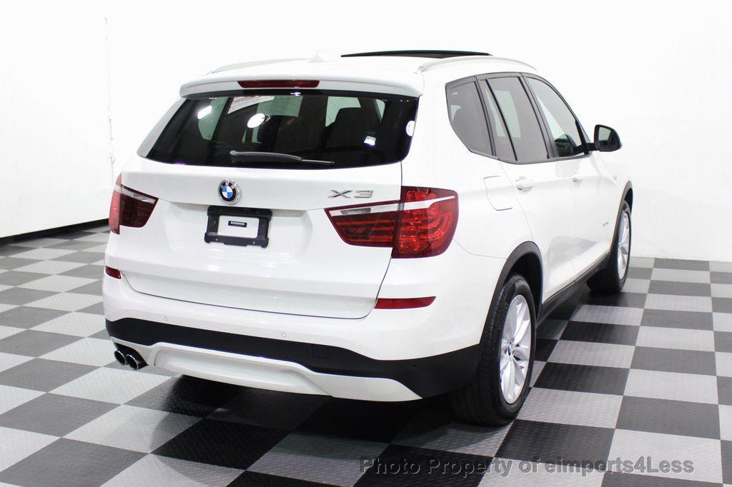 2017 BMW X3 CERTIFIED X3 xDRIVE28i AWD CAMERA PANO NAVI - 18104444 - 3