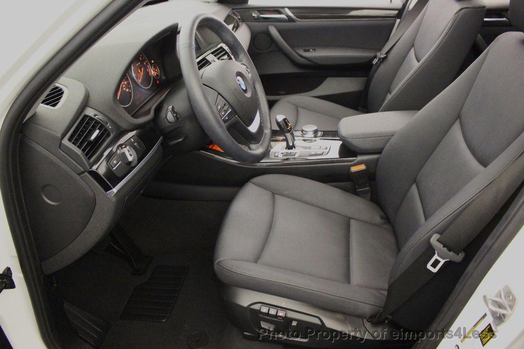 2017 BMW X3 CERTIFIED X3 xDRIVE28i AWD CAMERA PANO NAVI - 18104444 - 39